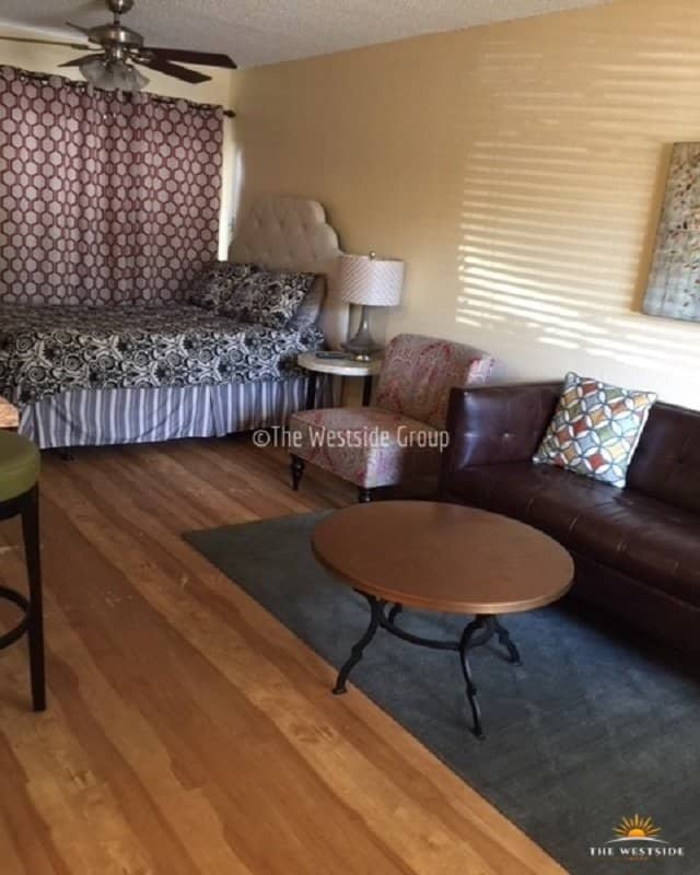 furniture arrangement by a resident of waterston apartments in clarksville austin