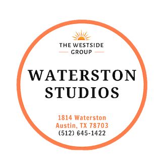 logo studio apartments by waterston austin