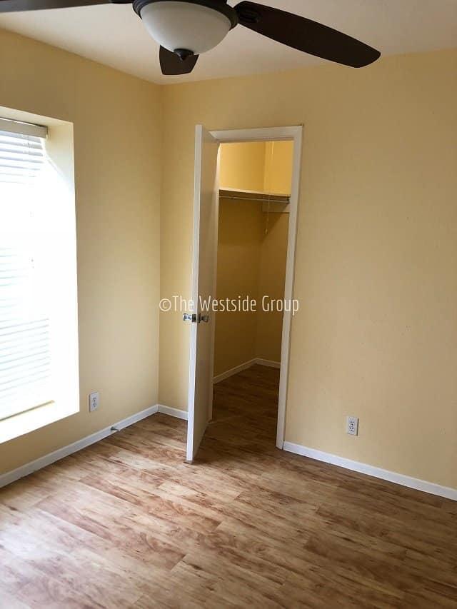 Full closet per bedroom